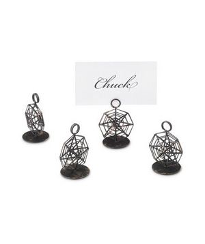 Spider Web Place Card Holders