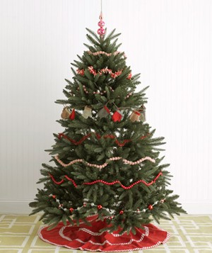 festive christmas tree decorating ideas real simple