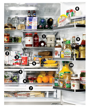 sc 1 st  Real Simple & How to Organize Your Refrigerator Drawers and Shelves - Real Simple