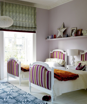 Children S Bedroom Decorated With Patterns