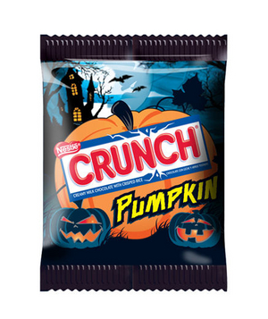 Nestle Crunch Pumpkin Singles