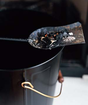 How to Remove Candle Ashes or Fireplace Soot