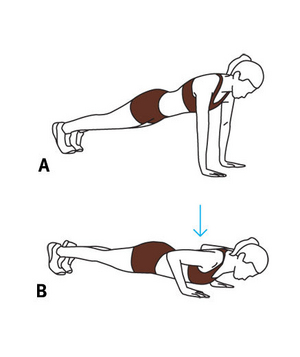 Move 6: Close-Grip Push-Up