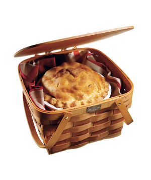 Peterboro Two-Pie Basket