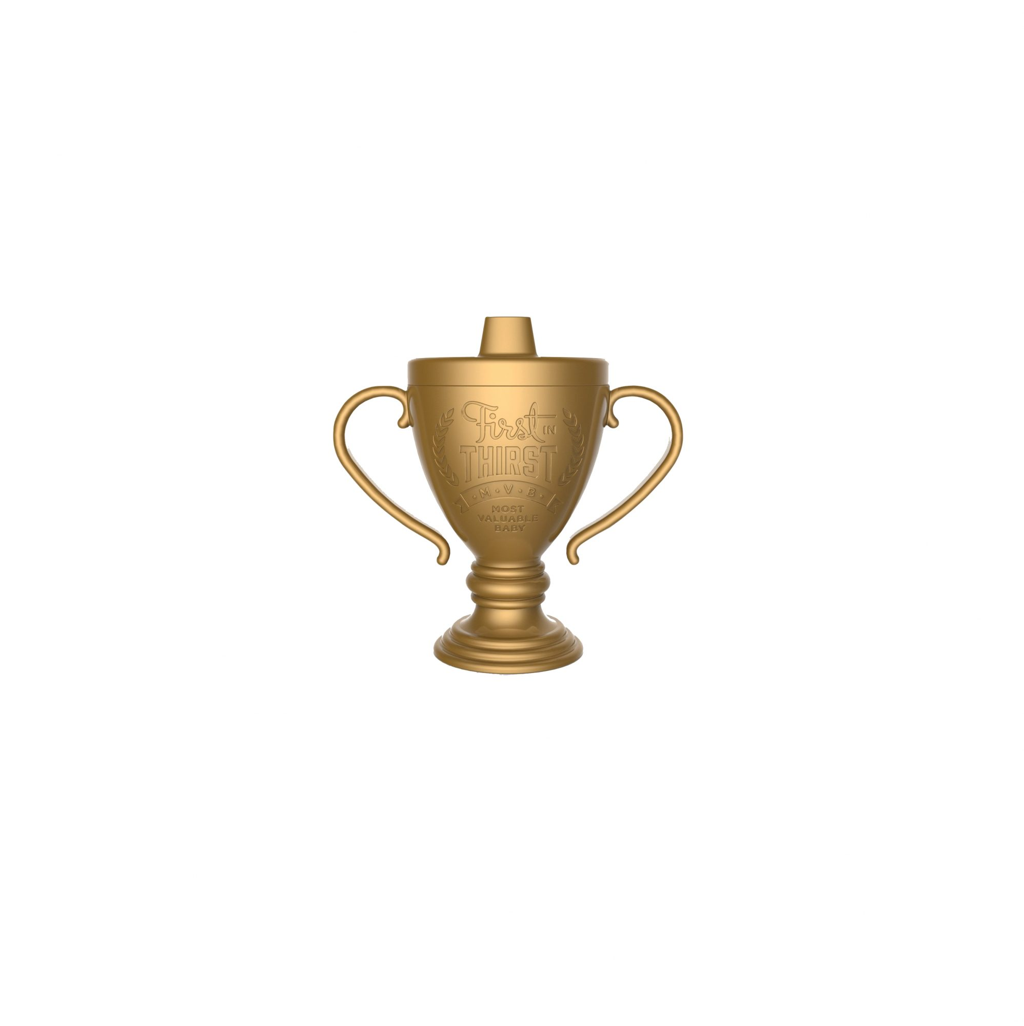 "Fred & Friends ""Lil' Winner"" Trophy Sippy Cup"