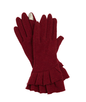 Nordstrom Ruffle Tech Gloves
