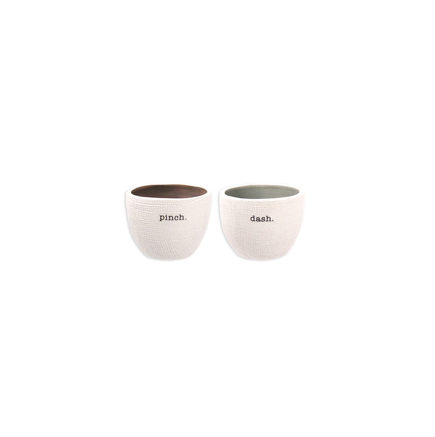 Two-Piece Salt and Pepper Cellar Set