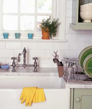 Myth: A Sparkling Kitchen Is Clean and Healthy
