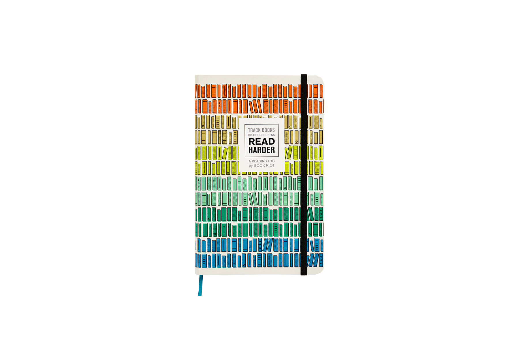 Gifts for Book Lovers: Read Harder (A Reading Log)