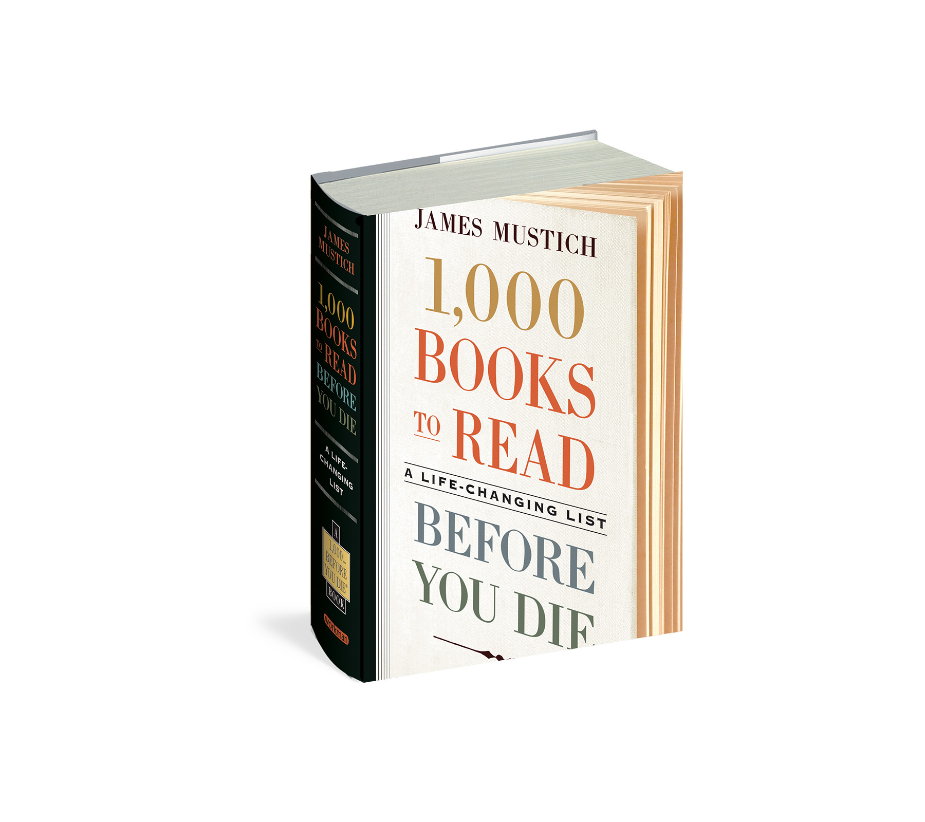 1,000 Books to Read Before You Die, by James Mustich