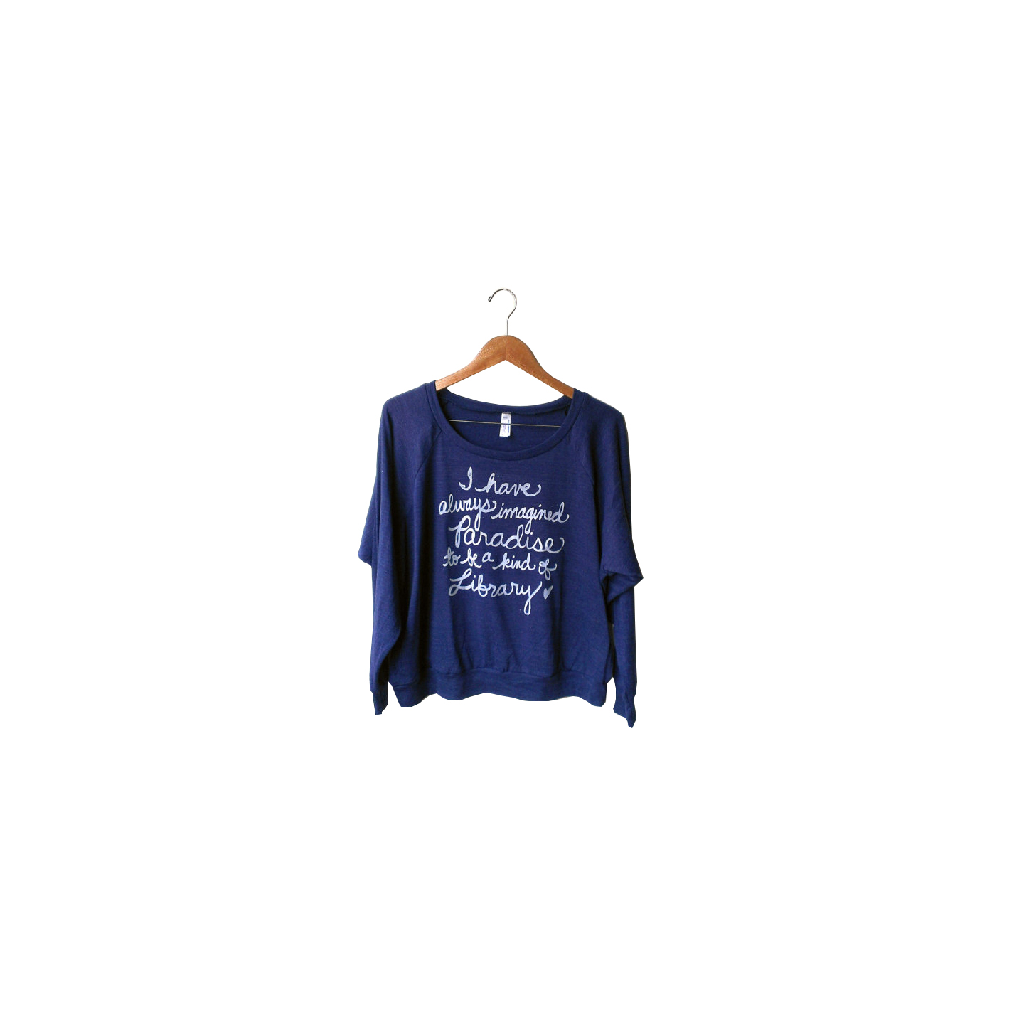 Library Book Lover Pullover
