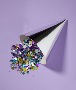 Party Hat as Confetti Holder