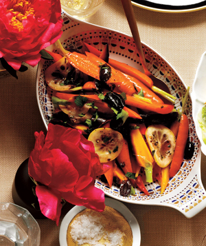 Carrots With Spicy Olive-Lemon Oil