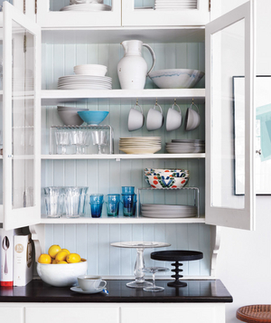 Organized kitchen cabinet - Landscape