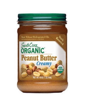 Santa Cruz Organic Dark Roasted Peanut Butter