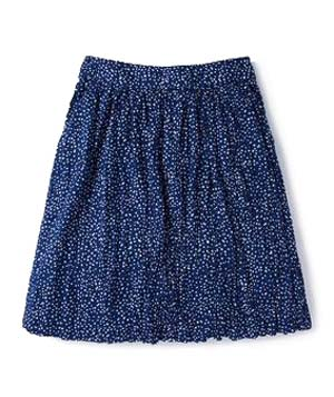 Boden Crinkle Holiday Skirt