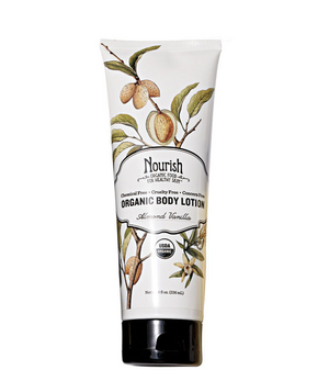 Nourish Organic Body Lotion in Almond Vanilla