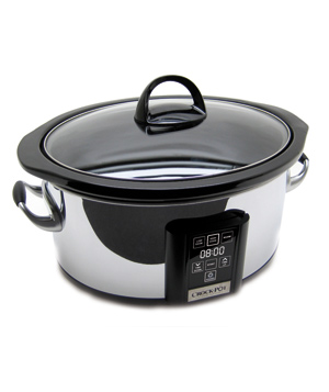 Crock-Pot Touch Screen Slow Cooker