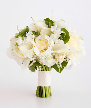 Bouquet of calla lily and peony