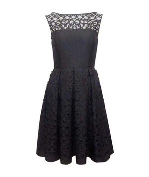3. Laser Cut Girly Dress From Muse
