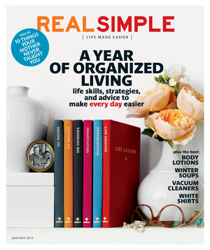 Real Simple January 2013