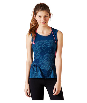 AEO Performance Fashion Peplum Tank