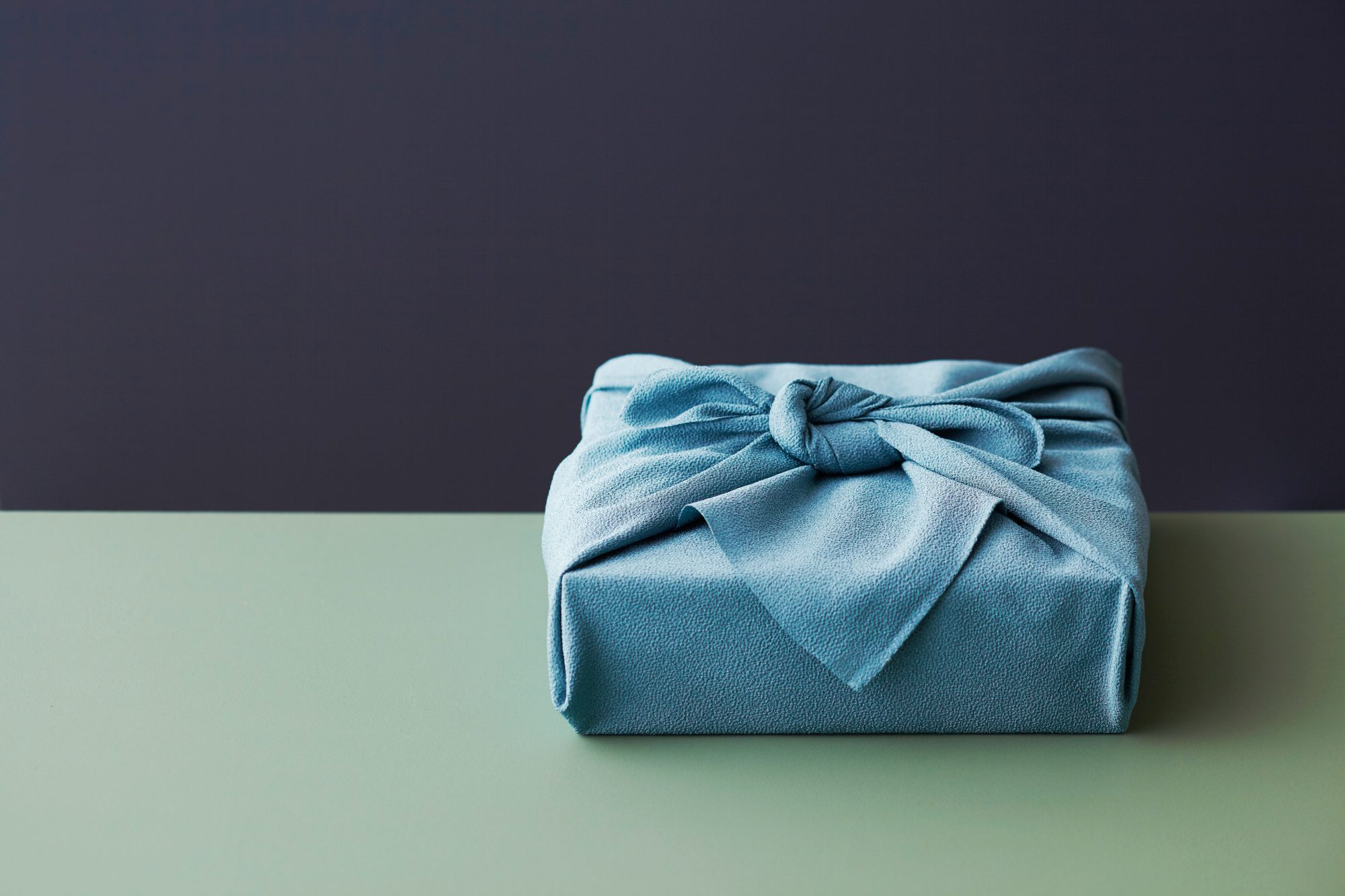 Wrapped present -- Wedding Gift Registry