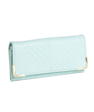Under One Sky Quilted Wallet