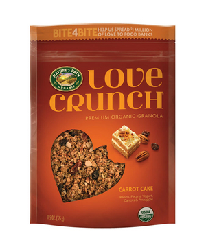 Nature's Path Love Crunch Carrot Cake Granola