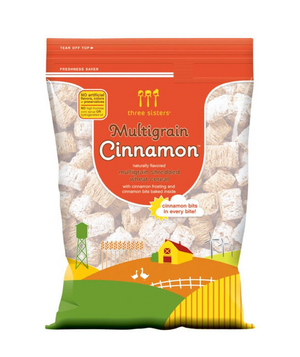 Three Sisters Multigrain Cinnamon Cereal