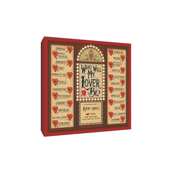 Valentine Gifts for Kids: Who Will My Lover Be? Game Box