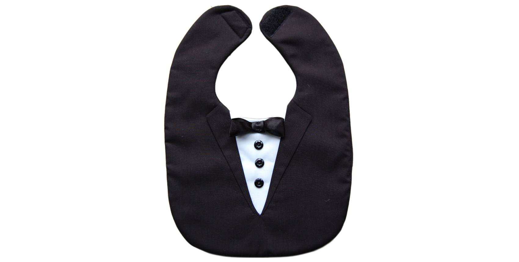 Valentine Gifts for Toddlers: Tuxedo Bib