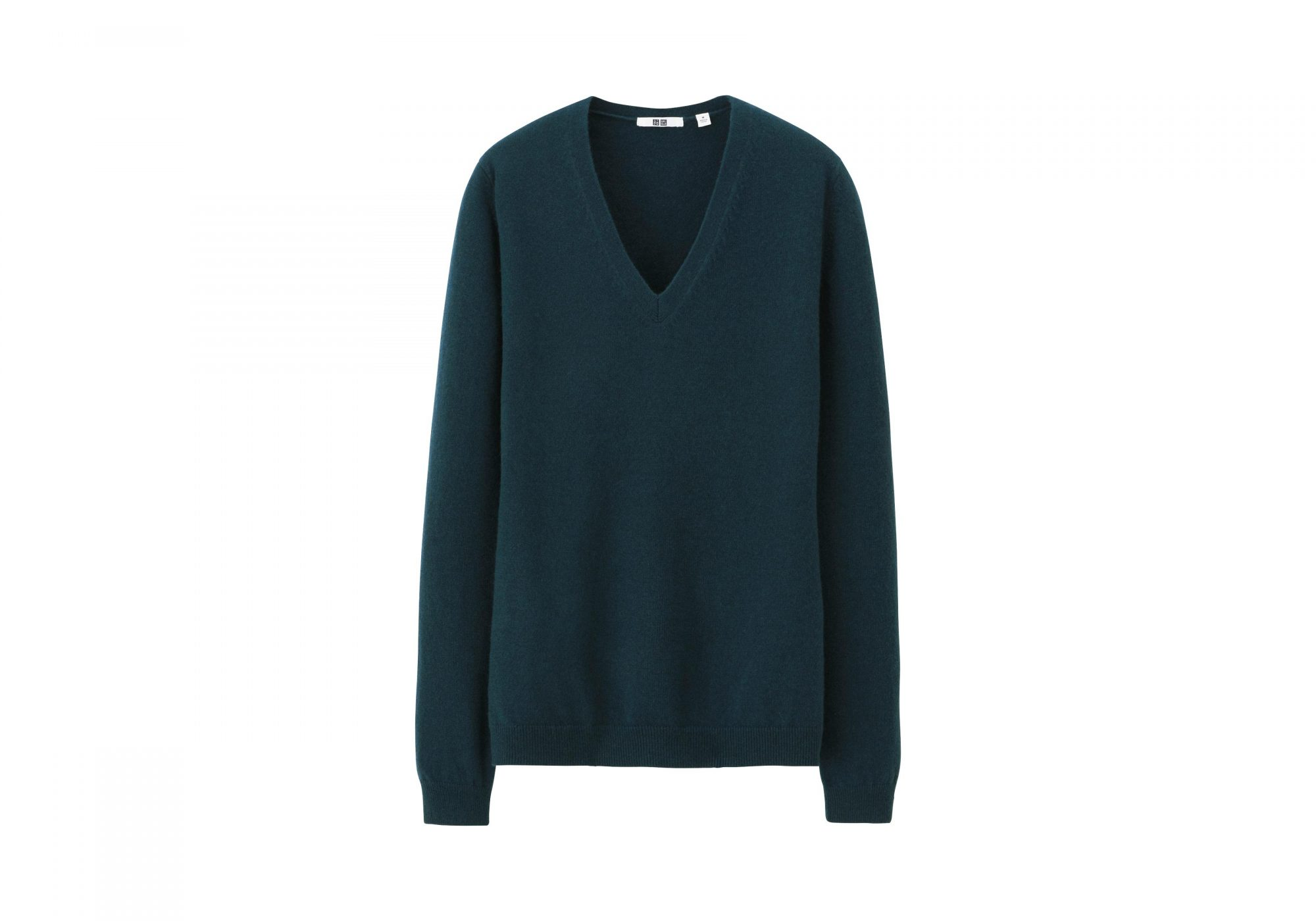 Uniqlo Women Cashmere V Neck Sweater
