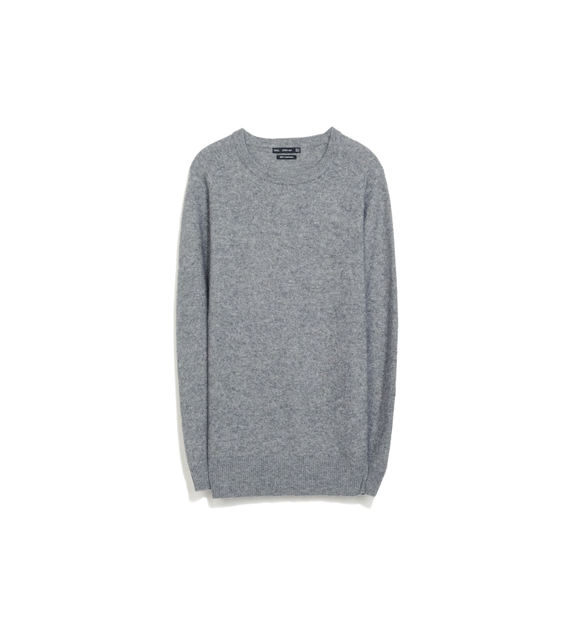 Zara Crew Neck Cashmere Sweater