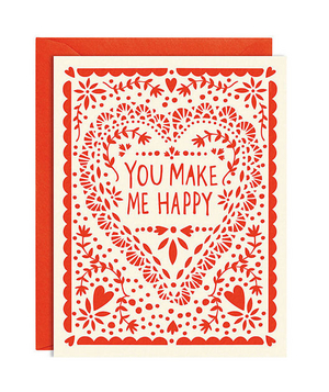 Paper Source Make Me Happy Card