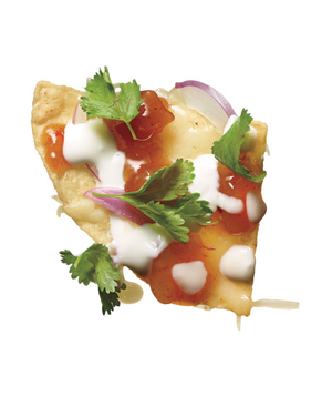 Mango Chutney and Yogurt Nachos