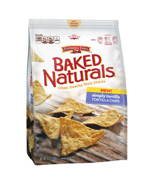 Pepperidge Farm Baked Naturals Tortilla Chips (Simply Tortilla variety)
