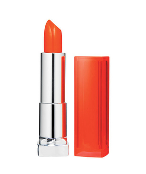 Maybelline New York Color Sensational Lipstick Vivids Collection in Electric Orange