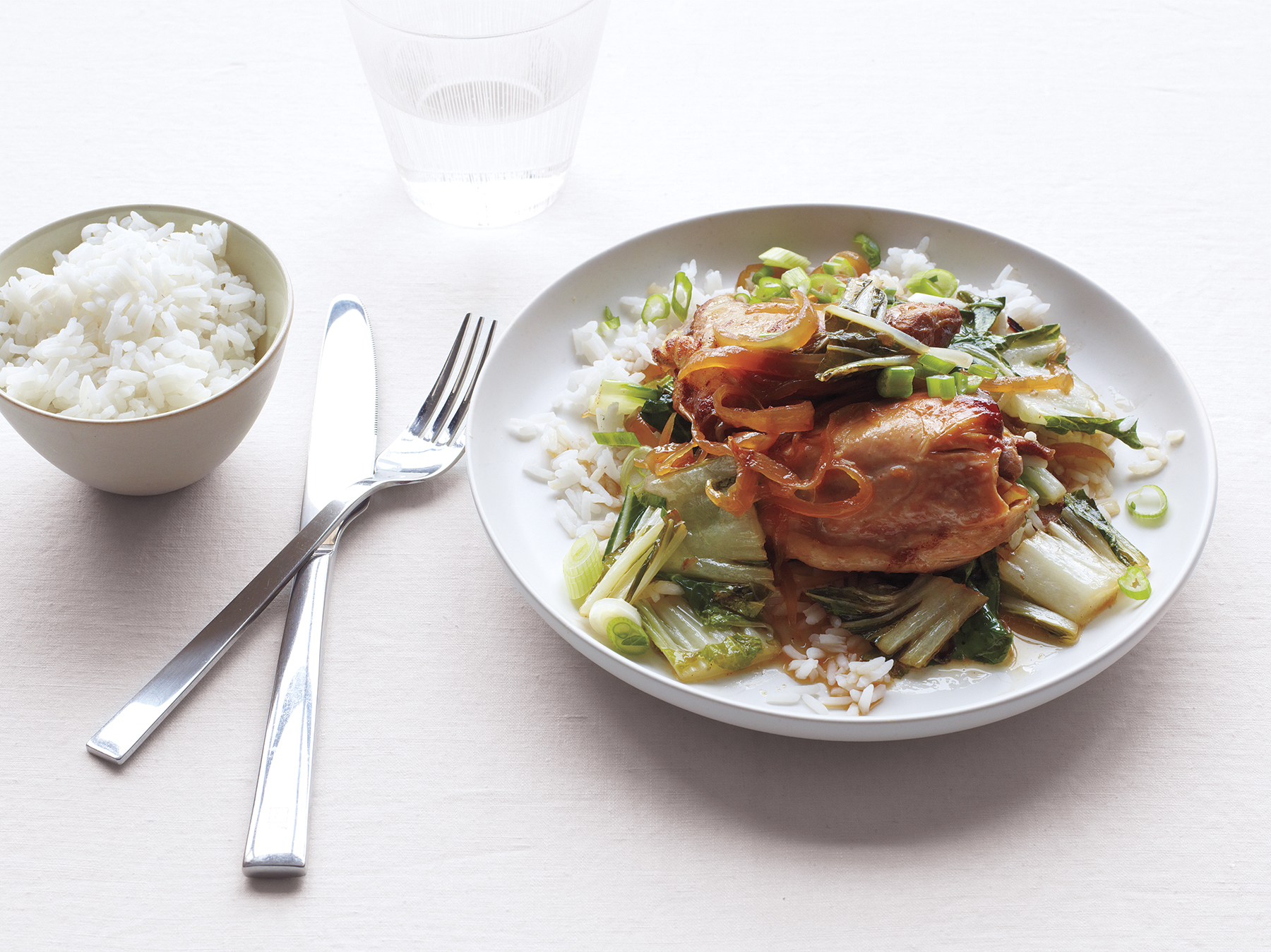 Slow-Cooker Soy-Braised Chicken