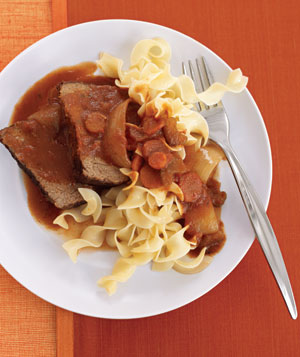 Slow-Cooker Tuscan Pot Roast