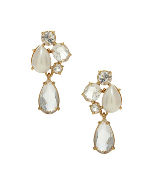 Kate Spade Fragment Pearl Drop Earrings