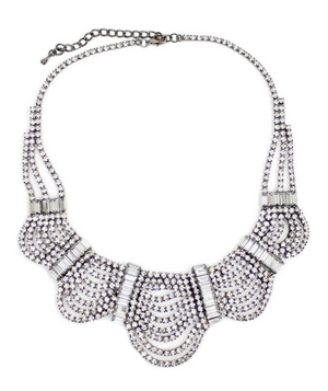 Shop Design Spark Crystal Collar Necklace