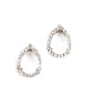 Shop Design Spark Crystal Tear Studs