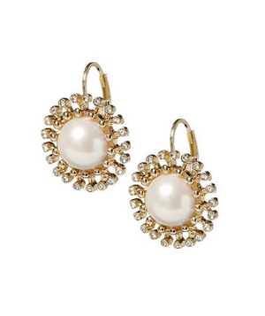 Banana Republic Flower Drop Earring