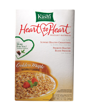 Kashi Heart to Heart Golden Maple Instant Oatmeal