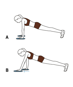 Illustration of Valslide one-arm slide
