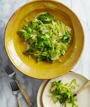 Lemon, Celery, and Parmesan Salad
