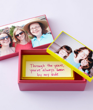 Photo keepsake mother's day card