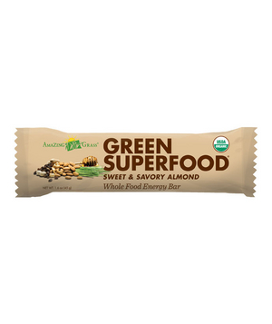 Amazing Grass Organic Sweet and Savory Almond Whole Energy Bar