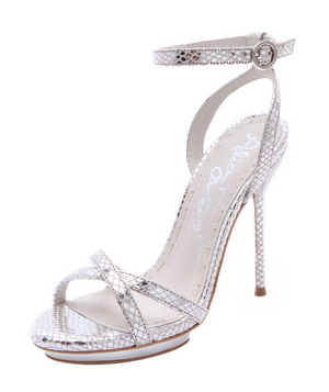 Alice + Olivia Paola Strappy Metallic Sandals